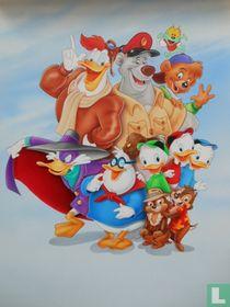 Cover tekening Ducktales Omnibus 5