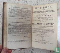 Het boek der gemeene gebeden