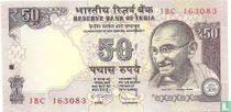 India 50 Rupees 2012