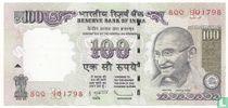 India 100 Rupees 2011 (R)