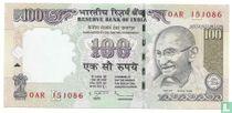 India 100 Rupees 2011 (L)