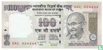 India 100 Rupees 2010