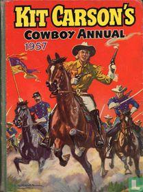 Kit Carson's Cowboy Annual 1957