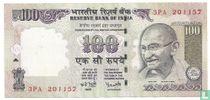 India 100 Rupees 2007