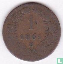 Austria 1 kreuzer 1861 (B)