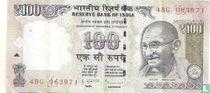 India 100 Rupees 2009 (R)