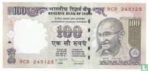 India 100 Rupees 2009