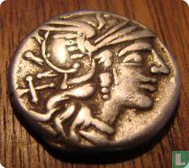 Romeinse Republiek, AR Denarius, 138 BC, C. Renius, Rome