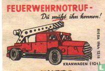 Feuerwehrnotruf - Kranwagen (10t)