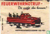 Feuerwehrnotruf - Amphibienfahrzeug (BAW-SIS-151)