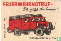 Feuerwehrnotruf - Löschfahrzeug (LF 16)