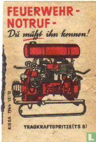 Feuerwehrnotruf - Tragkraftspitze (TS 8)