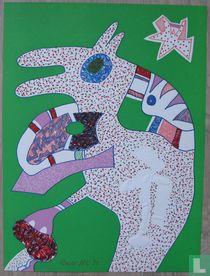 Otmar Alt - Compositie met figuren, 1974