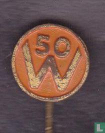 50 W (50 jarig regeringsjubileum Kon. wilhelmina)
