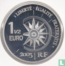 "Frankrijk 1½ euro 2003 (PROOF) ""The Orient - Express"""