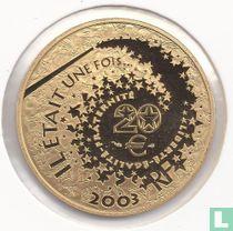 """Frankrijk 20 euro 2003 (PROOF) """"Alice in Wonderland"""""""