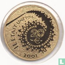 "Frankrijk 20 euro 2003 (PROOF) ""Sleeping Beauty"""