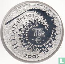 "Frankrijk 1½  euro 2003 (PROOF) ""Sleeping Beauty"""
