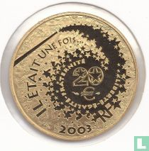 "Frankrijk 20 euro 2003 (PROOF) ""Hänsel and Gretel"""