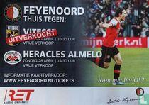 Feyenoord thuis tegen:
