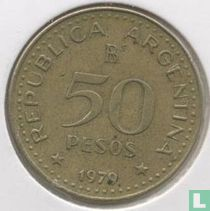"Argentinië 50 pesos 1979 ""100th anniversary Conquest of Patagonia"""
