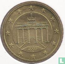Duitsland 50 cent 2003 (D)