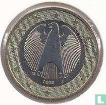 Duitsland 1 euro 2003 (J)