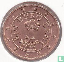Austria 1 cent 2002