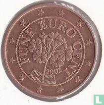 Austria 5 cent 2002