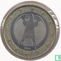 Duitsland 1 euro 2003 (G)