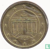 Duitsland 50 cent 2003 (G)