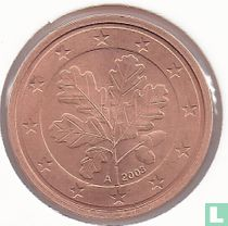 Germany 2 cent 2003 (A)