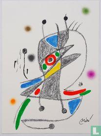 Originele litho van Joan Miro, Maravillas 2, 1975