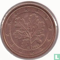 Duitsland 5 cent 2003 (G)