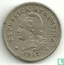 Argentinië 10 centavos 1912