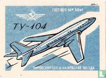 Vliegtuig TY-104