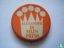 Alexander is mijn prins