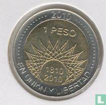 "Argentinië 1 Peso 2010 ""200th Anniversary of Argentina & May Revolution Series - El Palmar"""