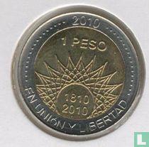 "Argentinië 1 Peso 2010 ""200th Anniversary of Argentina & May Revolution Series - Aconcagua"""