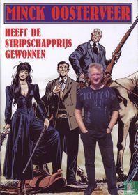 Minck Oosterveer heeft de Stripschapprijs gewonnen