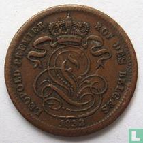België 1 centime 1833