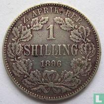 Afrique du Sud 1 shilling 1896