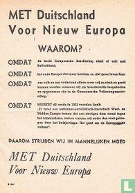 Met Duitschland Voor Nieuw Europa