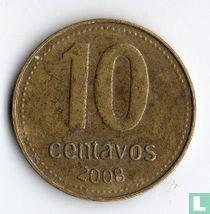 Argentina 10 centavos 2008