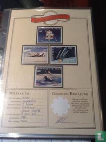 Weltraritäten Ungezähnte Briefmarken