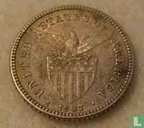 Filipijnen 20 centavos 1907 (S)