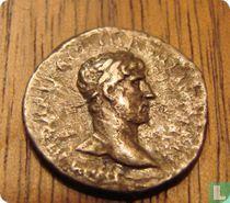 Romeinse Rijk, AR Quinarius, 117 - 138 AD, Hadrianus, Rome