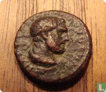 Romeinse Rijk, AE Quadrans, 98-117 AD, Trajanus, Rome, 100-110 AD