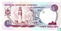 Bermuda 5 dollar 1992