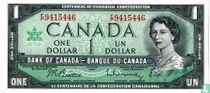 Canada 1 Dollar  1967 (gewoon type)
